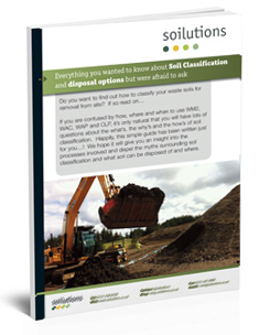Soil classification and disposal guide