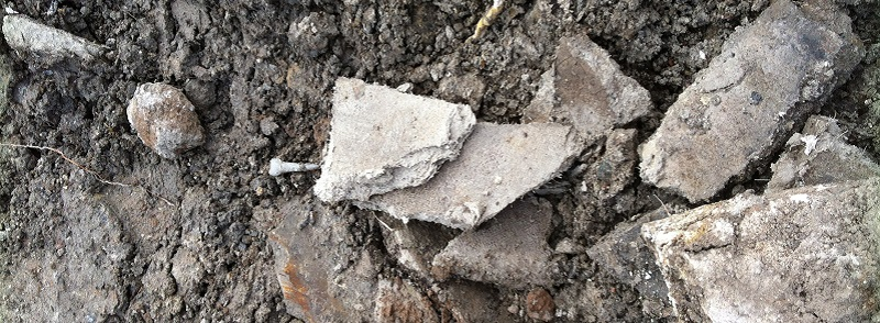 Soil Contaminated with Asbestos